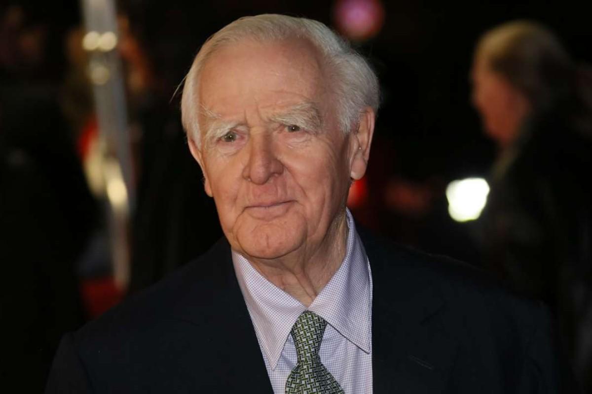 Spy novelist John le Carré.