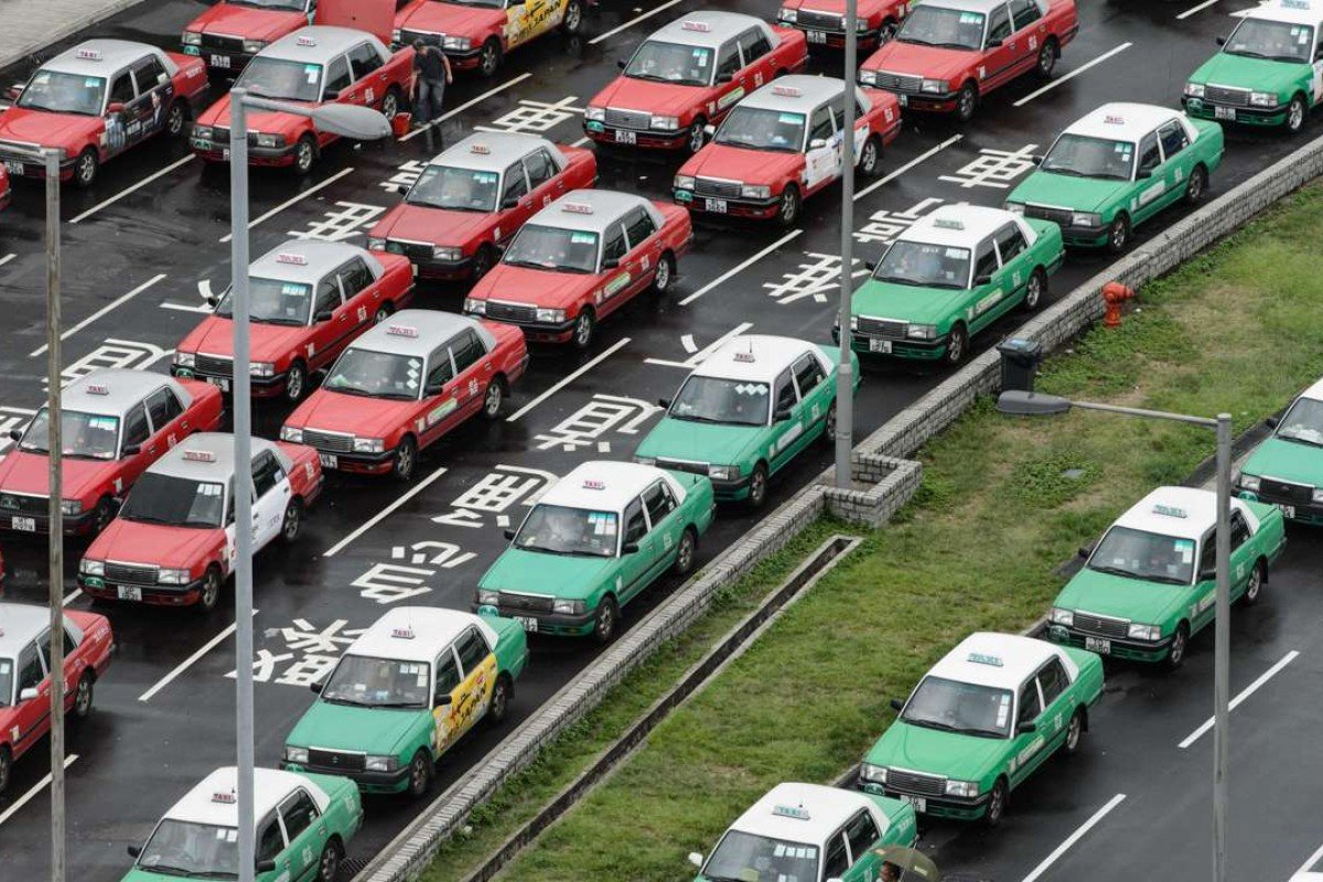 Hong Kong's taxi drivers: hustling businessmen, or the victims of the government's system? Photo: AFP