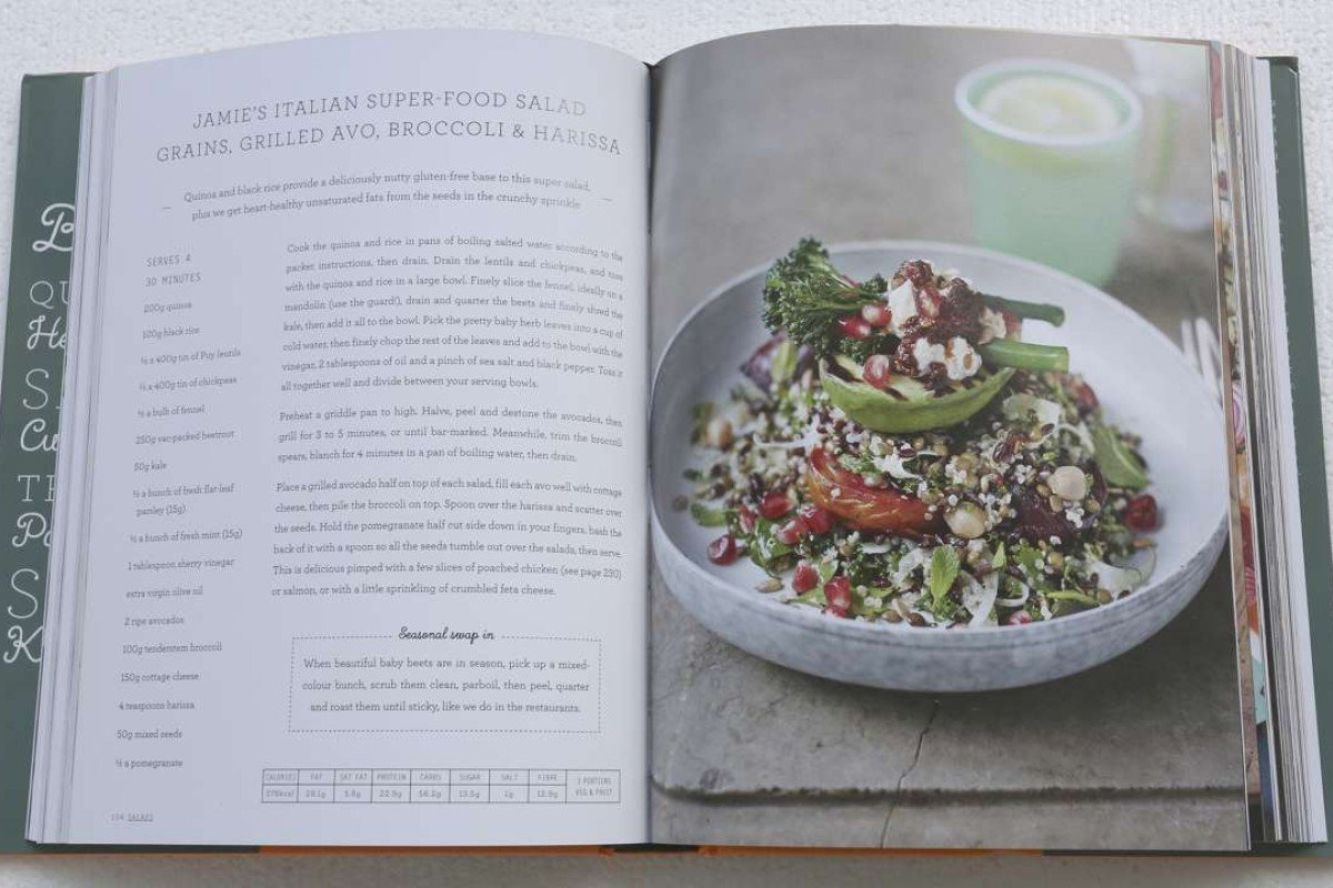 A recipe from Jamie Oliver's latest cookbook Super Food – Family Recipes.