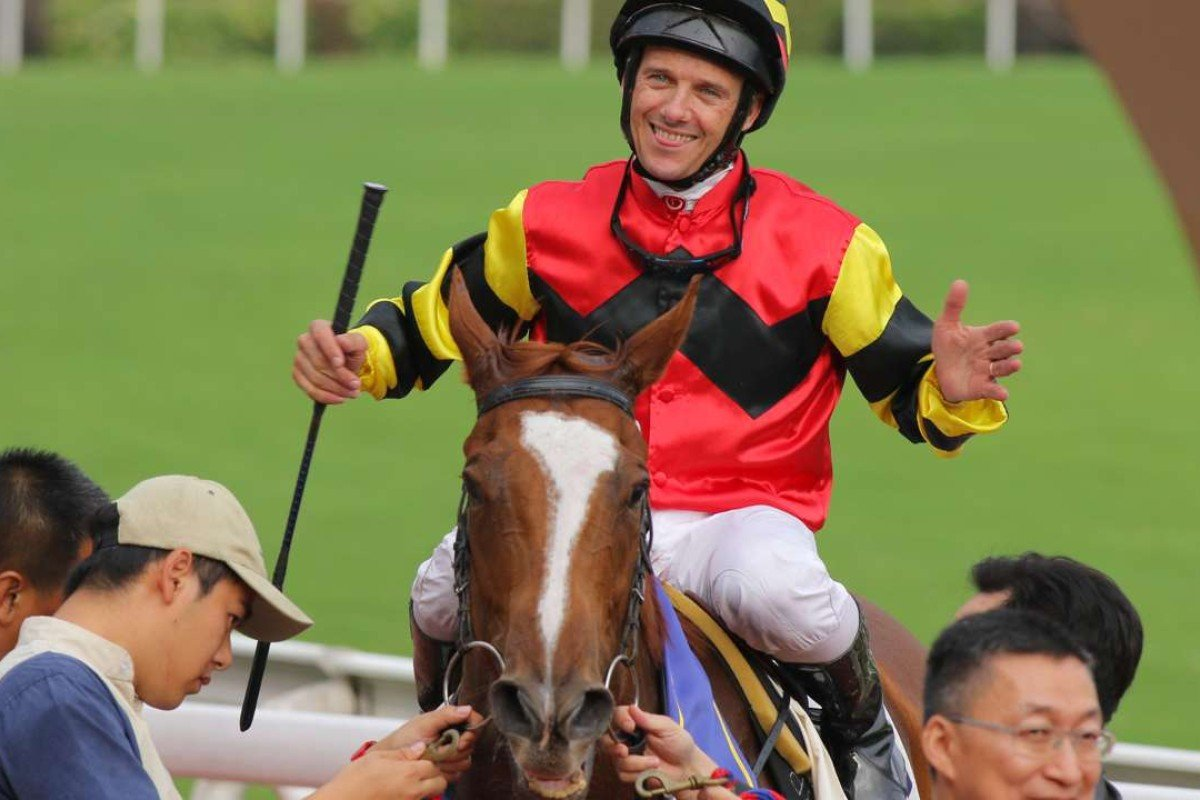 Brett Prebble and Lucky Bubbles are leading contenders for the Hong Kong Sprint. Photos: Kenneth Chan