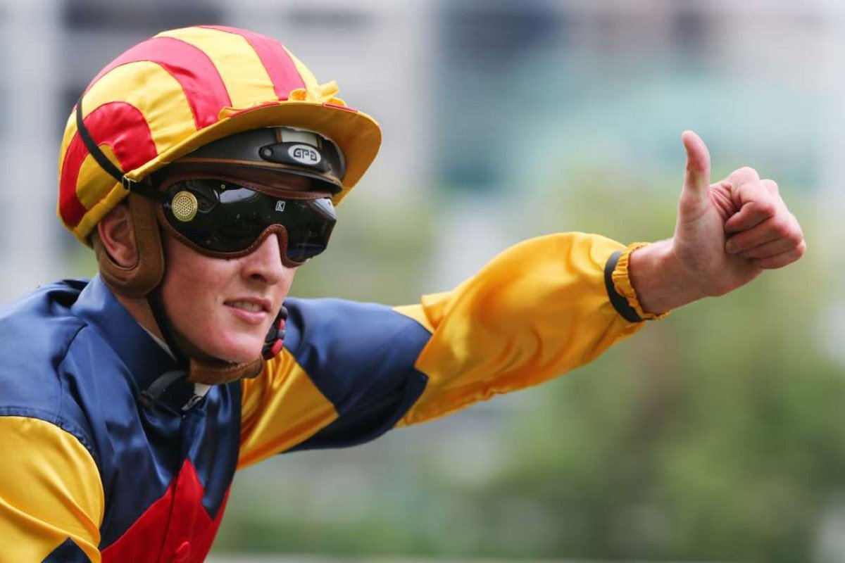 Chad Schofield will partner Oceanographer in Tuesday's Melbourne Cup. Photos: Kenneth Chan