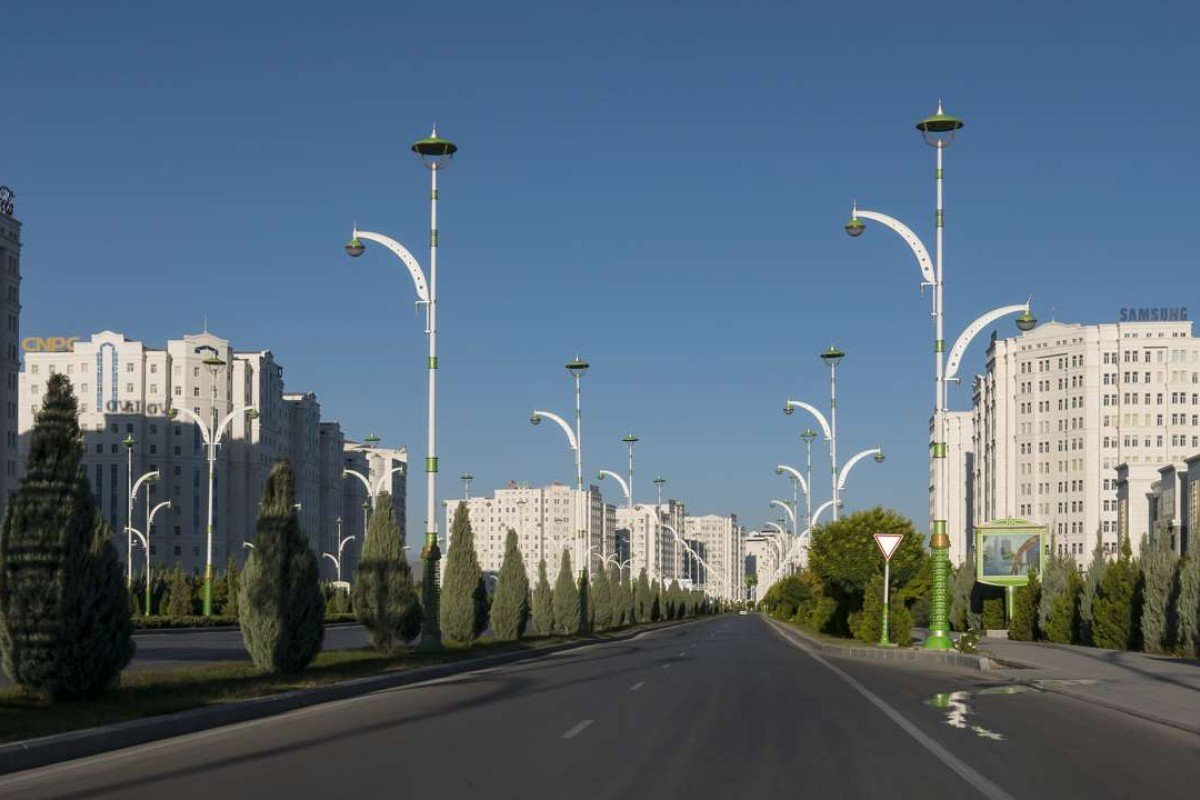 "Ashgabat holds the Guinness World Record for ""the city having the highest density of white marble-clad buildings"". Pictures: Ayesha Sitara"