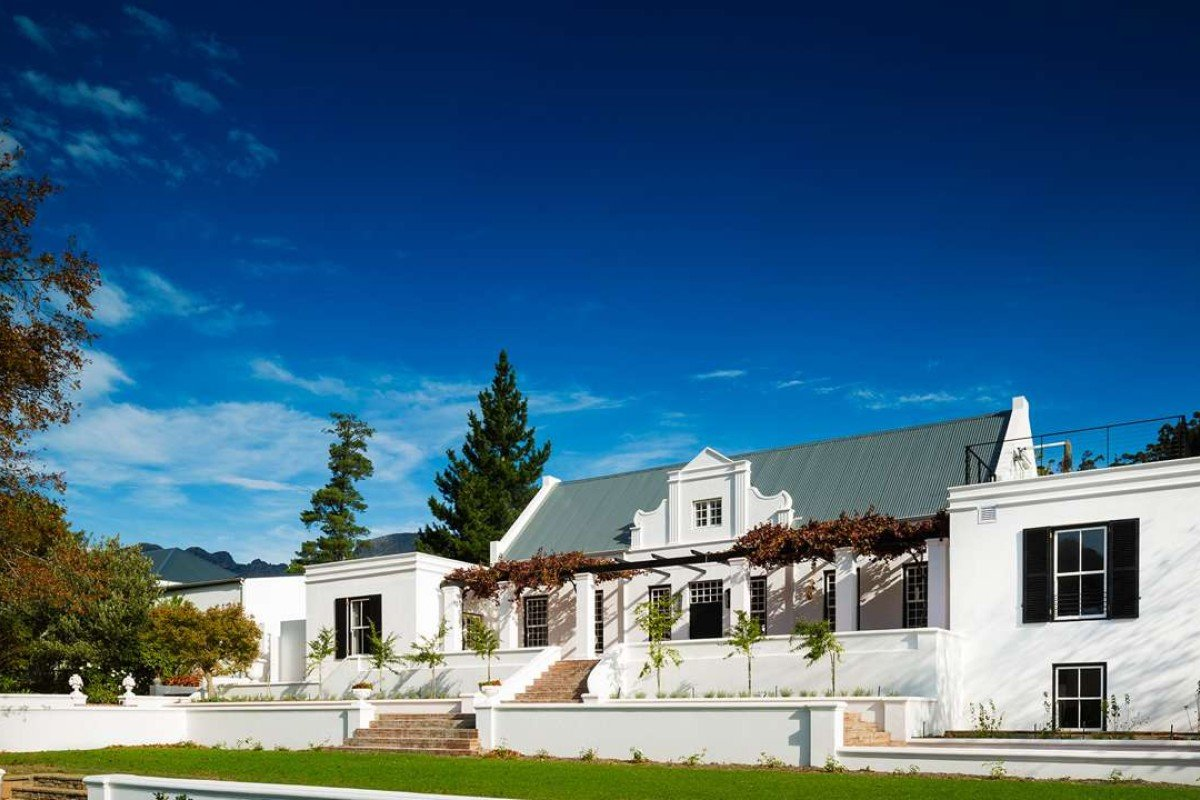 The Manor House at Mont Rochelle Hotel & Vineyard.
