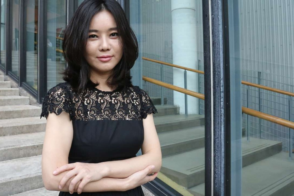 Hyeonseo Lee said she was 'very sad and disappointed about the situation' in South Korea. Photo: Jonathan Wong