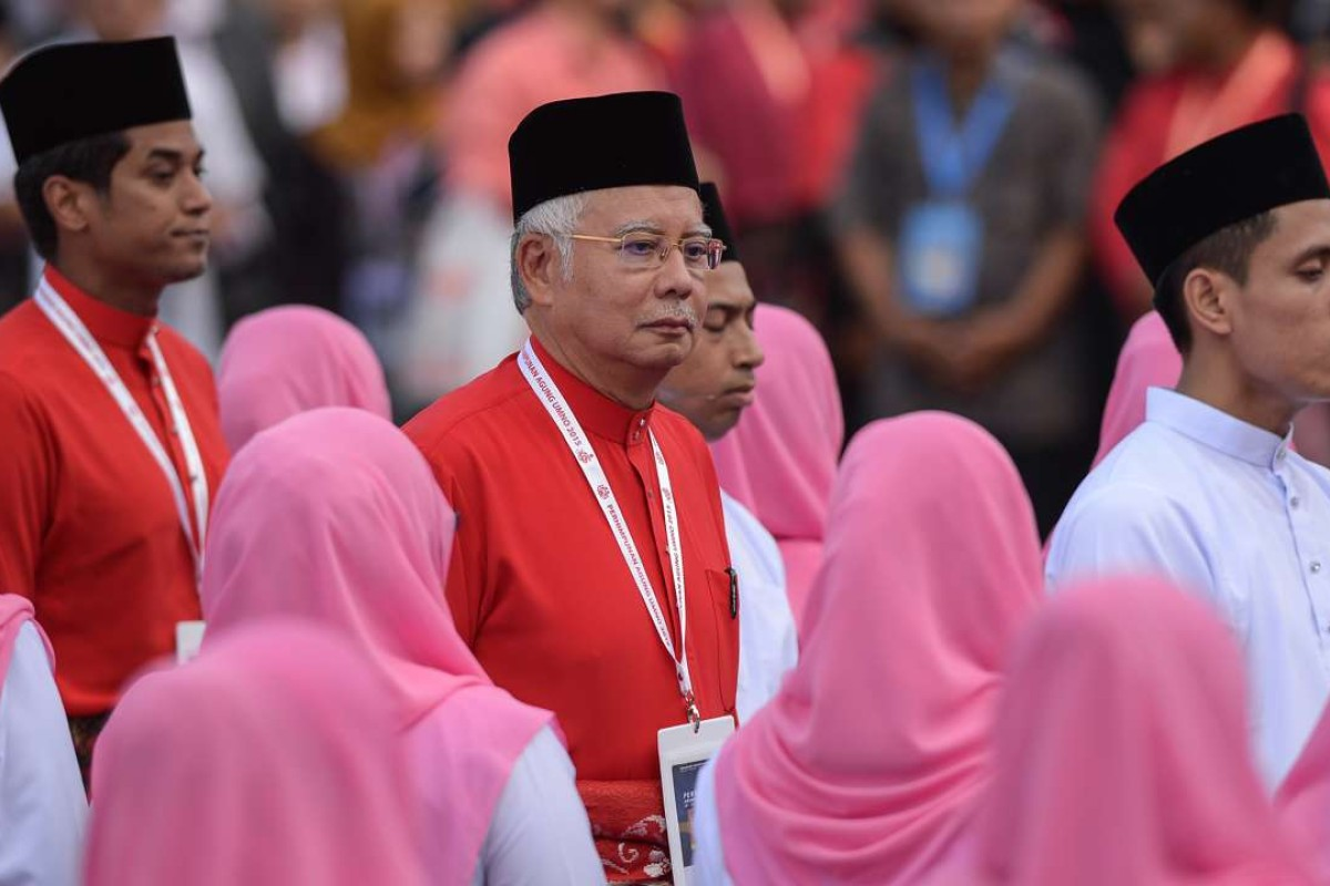Malaysian Prime Minister Najib Razak is the chairman of Barisan Nasional, which has ruled Malaysia since its independence. Photo: AFP