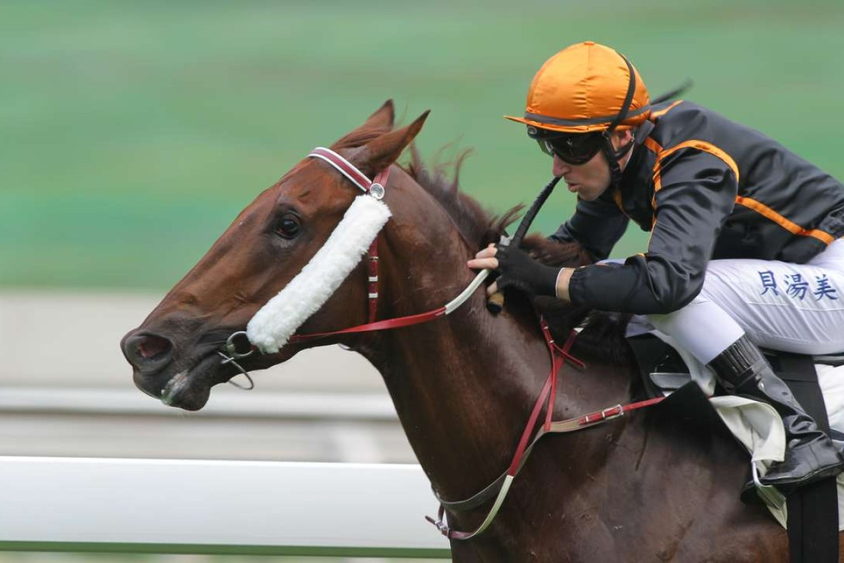 Tommy Berry and Able Friend. Photos: Kenneth Chan