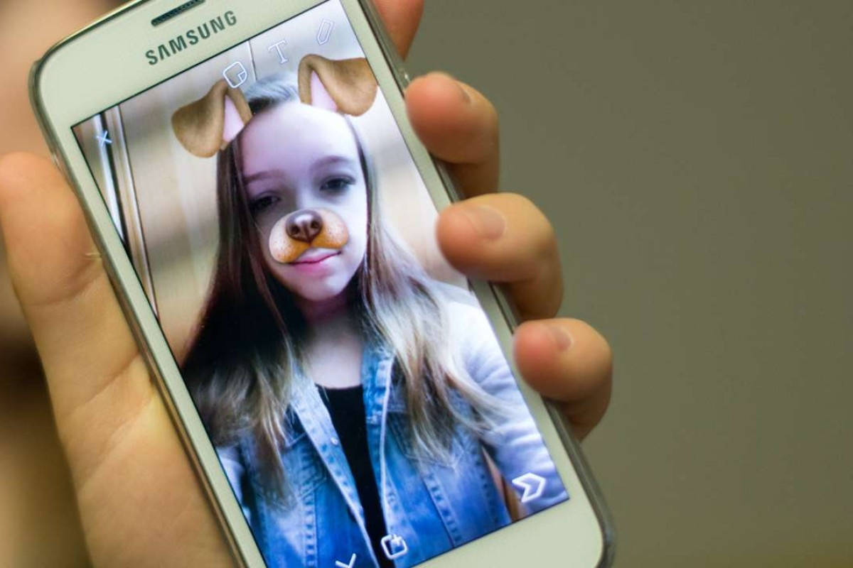 """Using Snapchat is like """"casually joking with a good friend"""". Photo: AFP"""