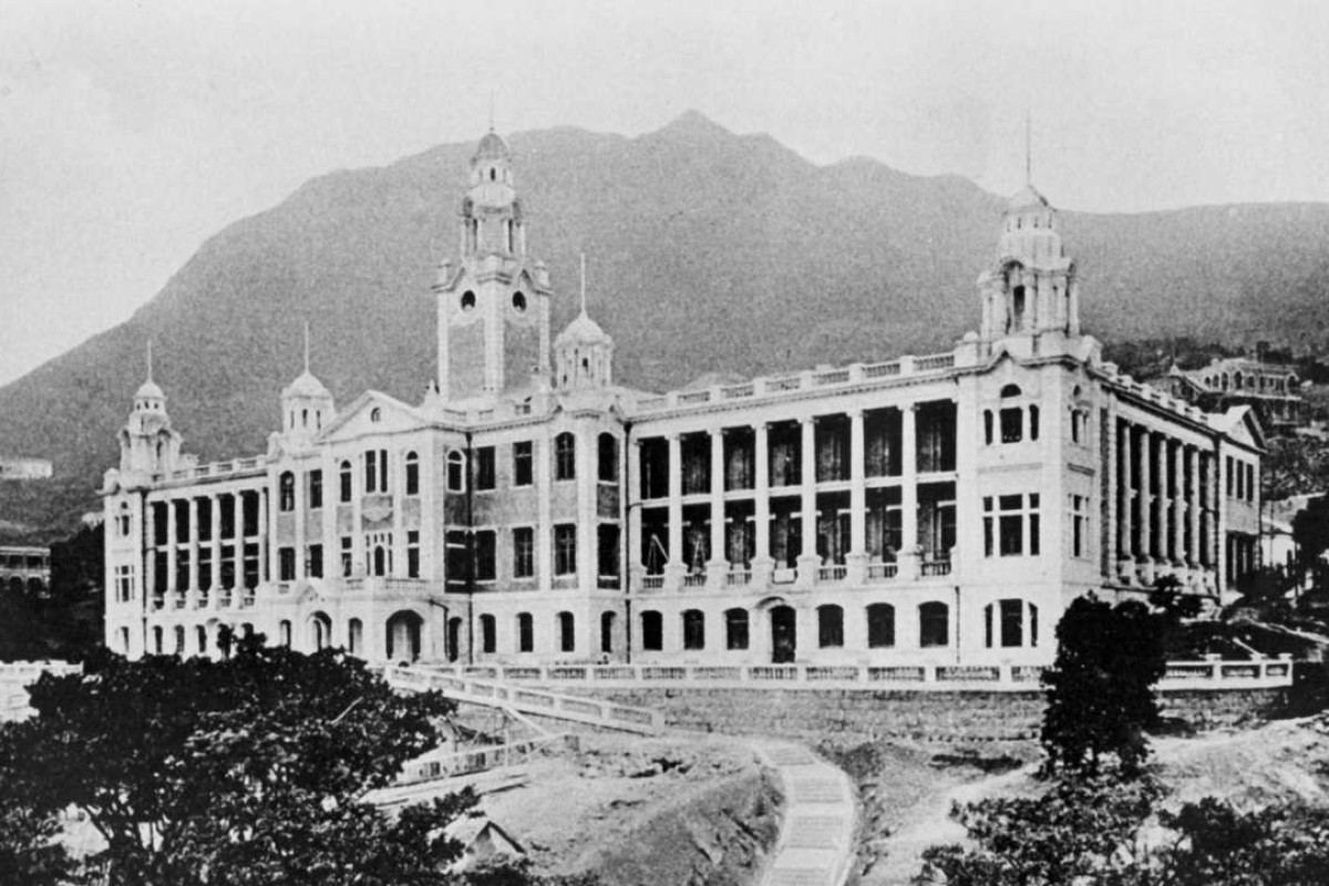 The University of Hong Kong University, around the time of its opening, in 1911.