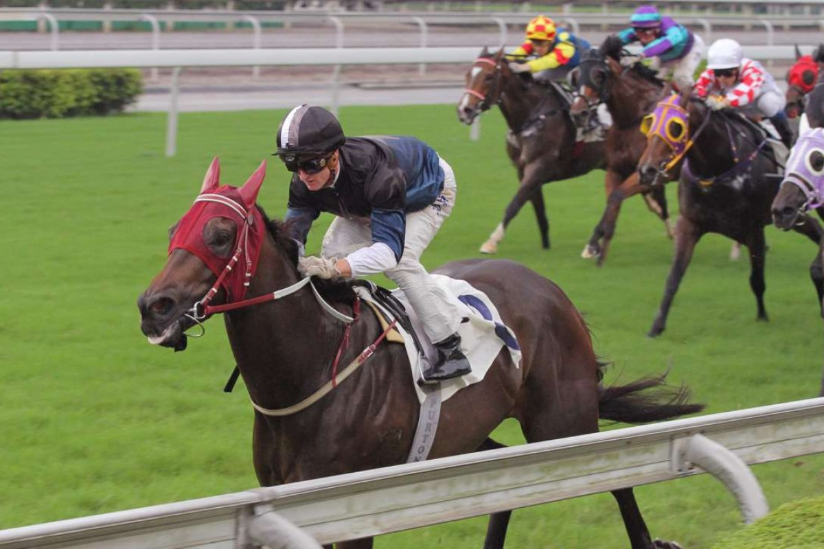 Bay Boy clears out from his rivals in June. Photos: Kenneth Chan