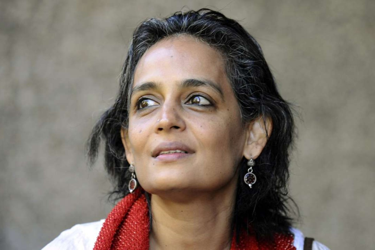 Arundhati Roy. Picture: AFP