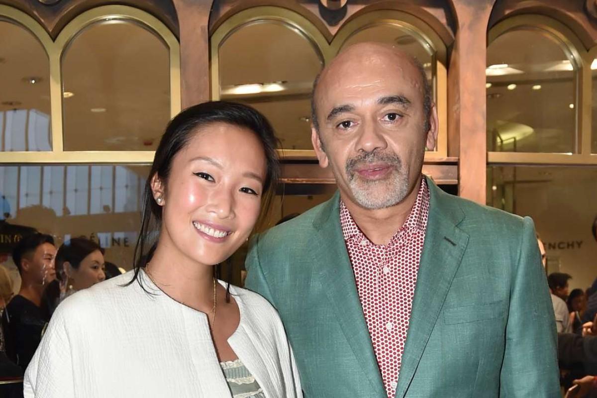 Chelsea Chau and Christian Louboutin