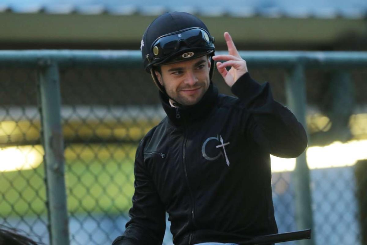 Jockey Umberto Rispoli hopes to return to racing at Sha Tin on January 22. Photos: Kenneth Chan