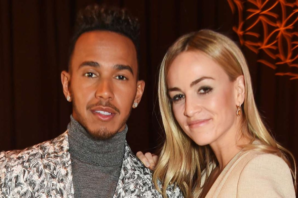Lewis Hamilton and Carmen Jorda