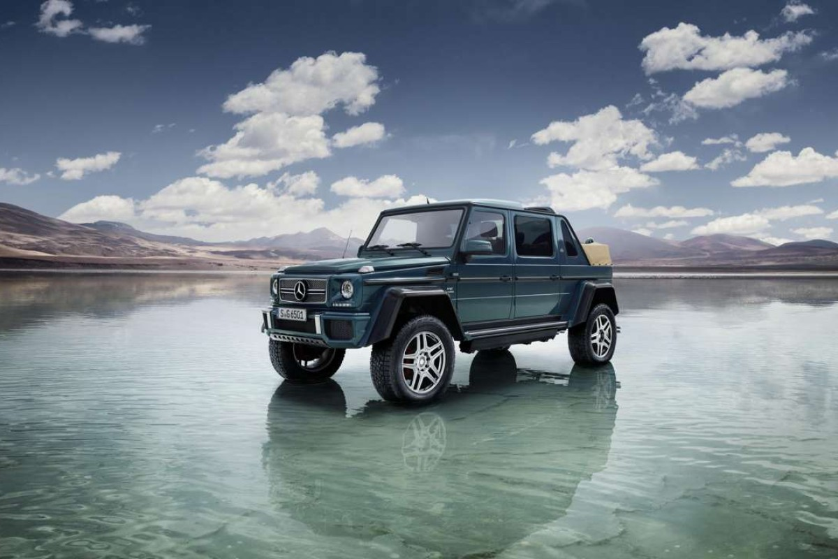 Mercedes-Maybach G 650 Landaulet cranks G-Wagon to max-crazy