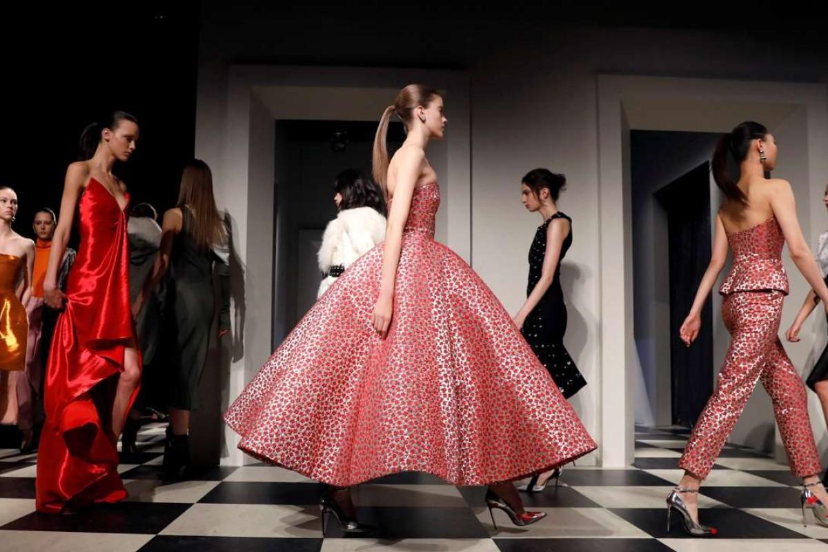 Monse and Oscar de la Renta's AW17 collection at New York Fashion Week. Photo: REUTERS