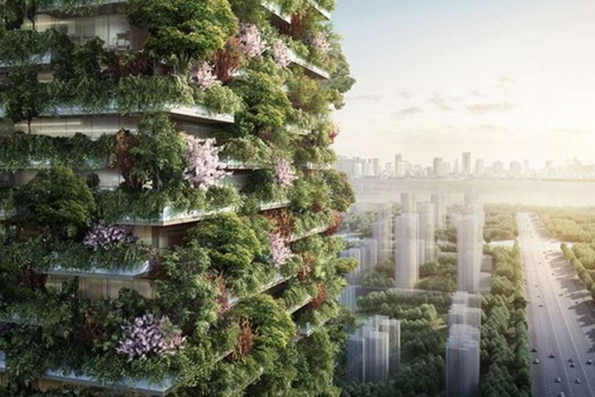 Nanjing Green Towers will be the first Vertical Forest built in Asia. Photo: Stefano Boeri Architetti