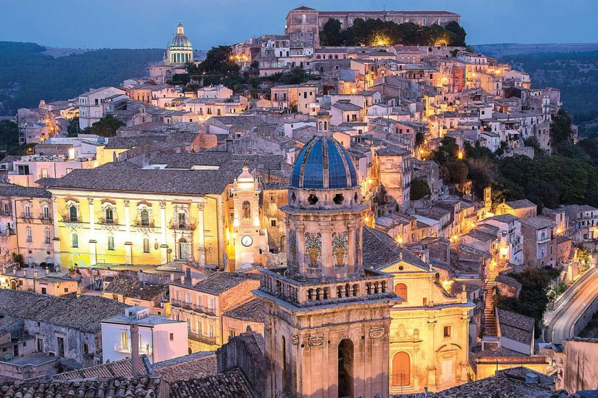Ragusa at dusk. Pictures: Tim Pile