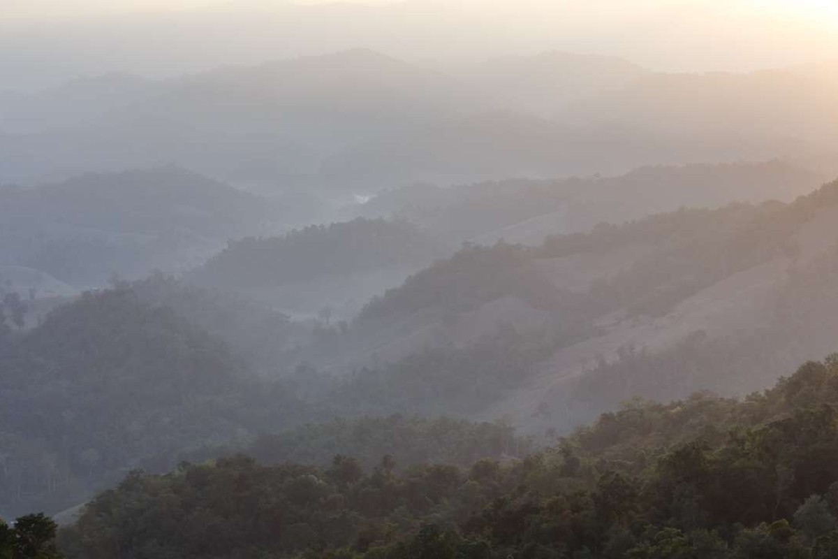 Early morning in Thailand's Mae Hong Son province.