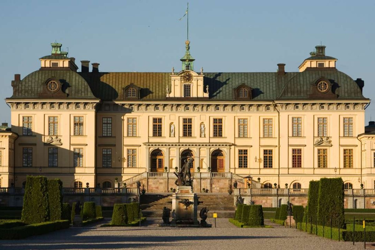 Drottningholm Palace, which Queen Silvia of Sweden claims is haunted. Picture: Alamy