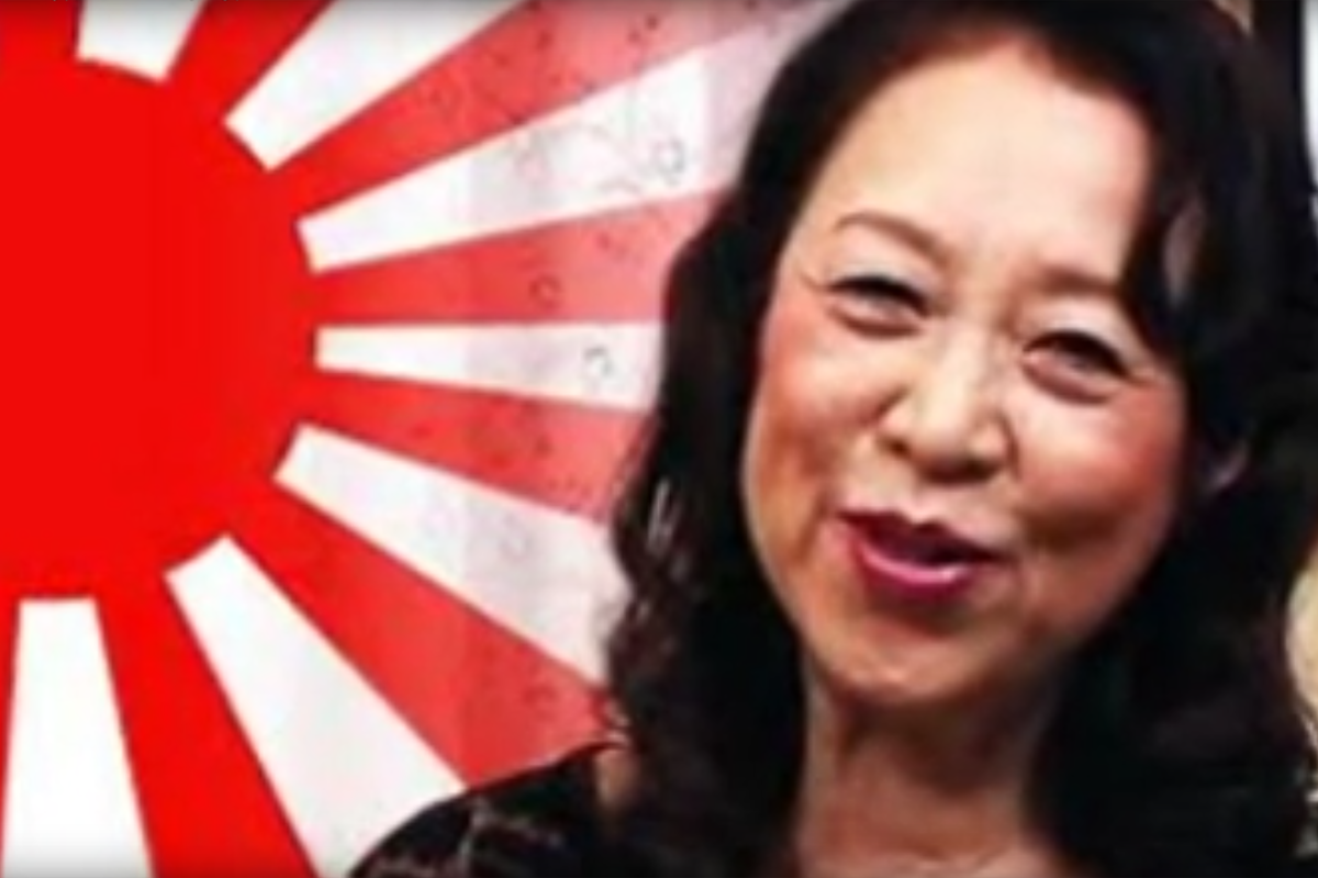 Maori Tezuka, a former opera singer who made her debut in Japan's flourishing 'silver porn' industry at a sprightly 71, has quit the business. Photo: YouTube