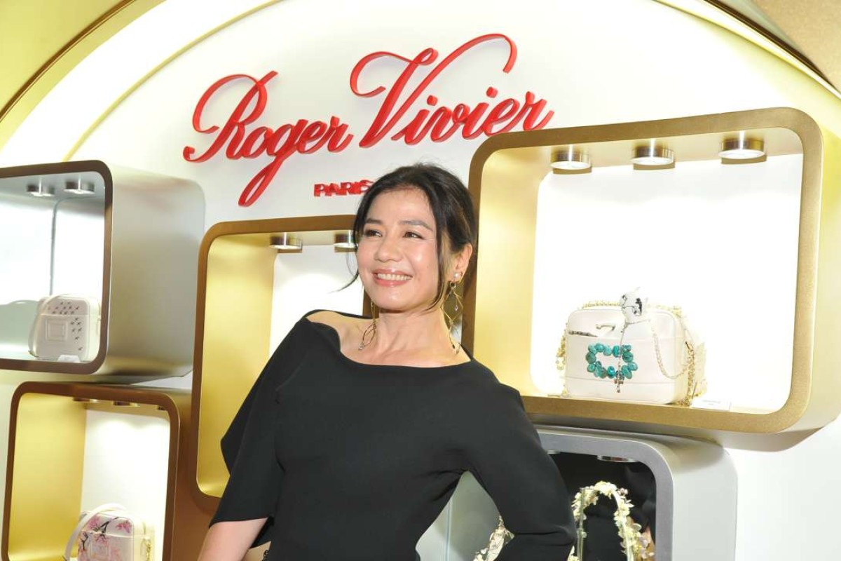 Cherie Chung at Roger Vivier cocktail party