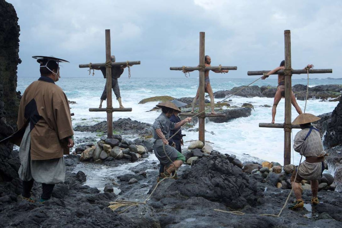 A still from the movie Silence about the purge of Christians in 17th century Japan.