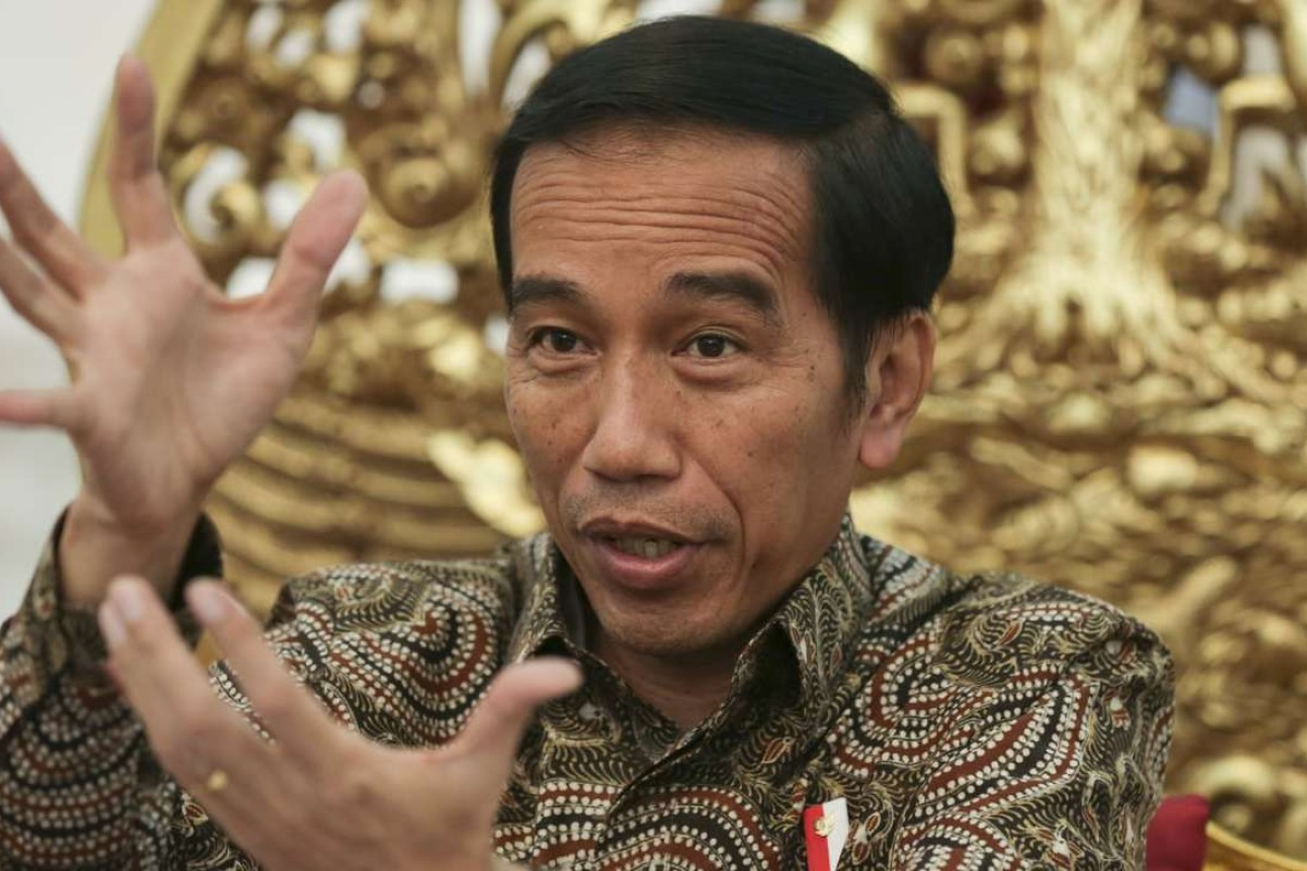 Joko Widodo, the president of Indonesia, speaks to This Week in Asia. Photo: Thomas Yau