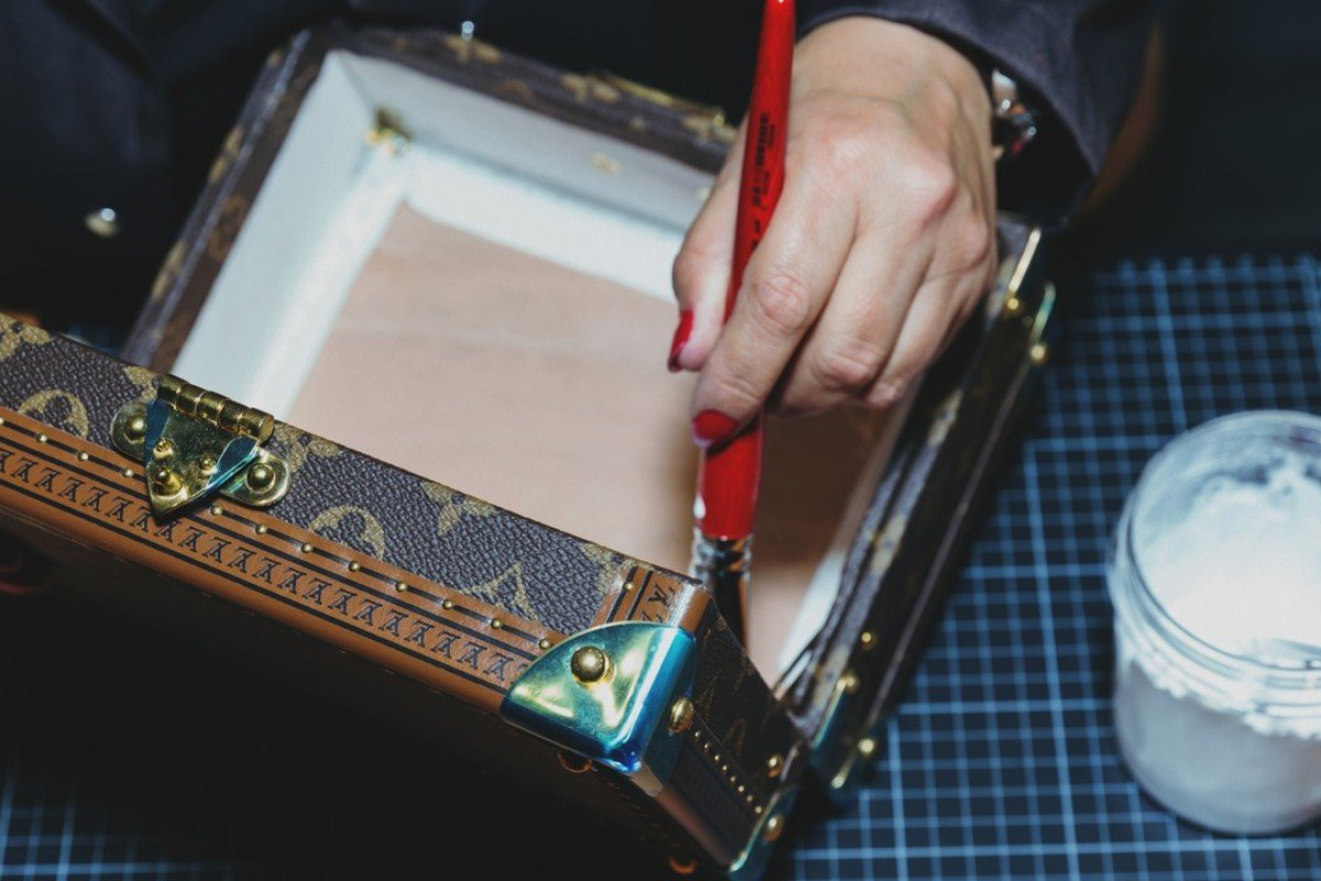 Louis Vuitton's Time Capsule exhibition in Hong Kong