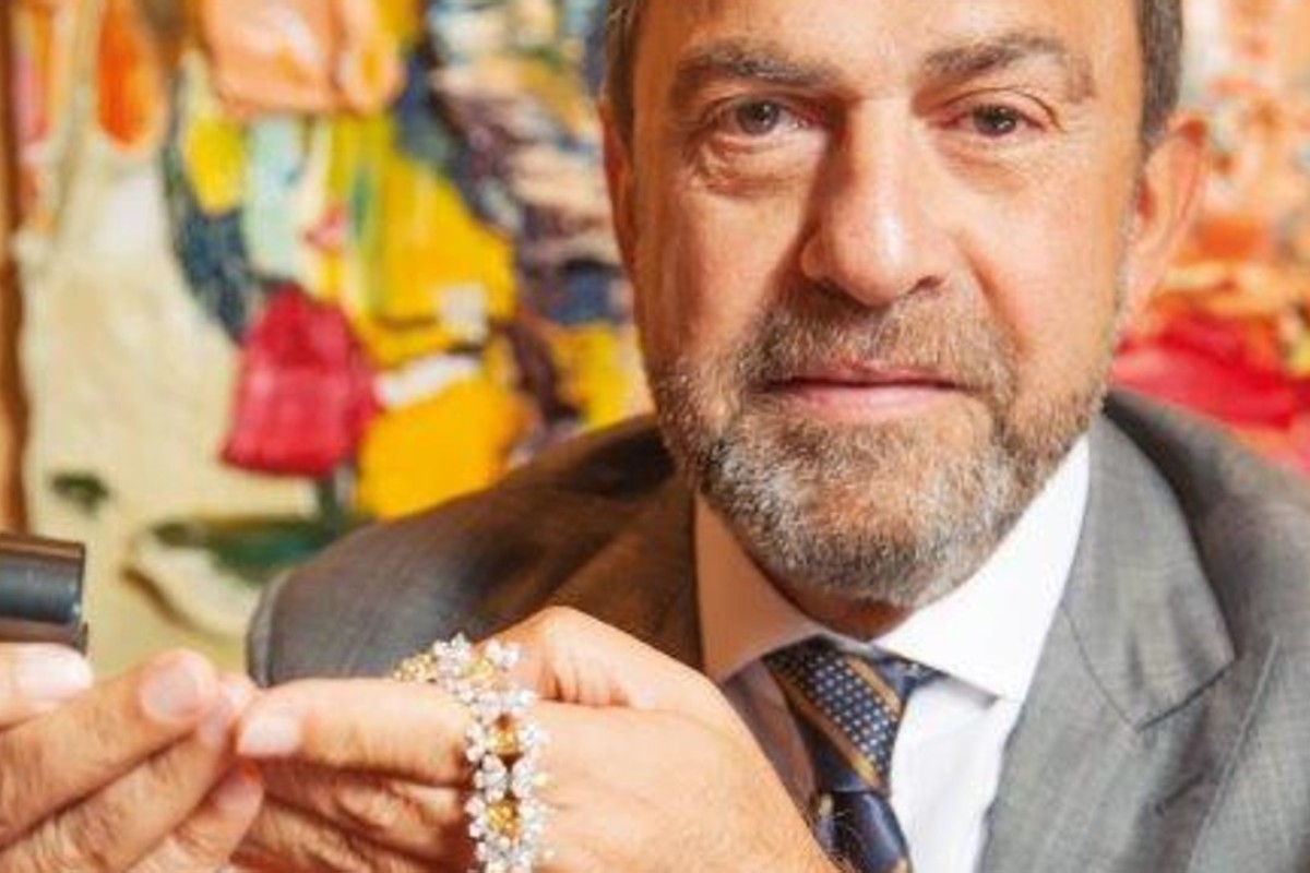 Ronald Abram, owner of the eponymous fine jewellery house founded in Hong Kong in 1987