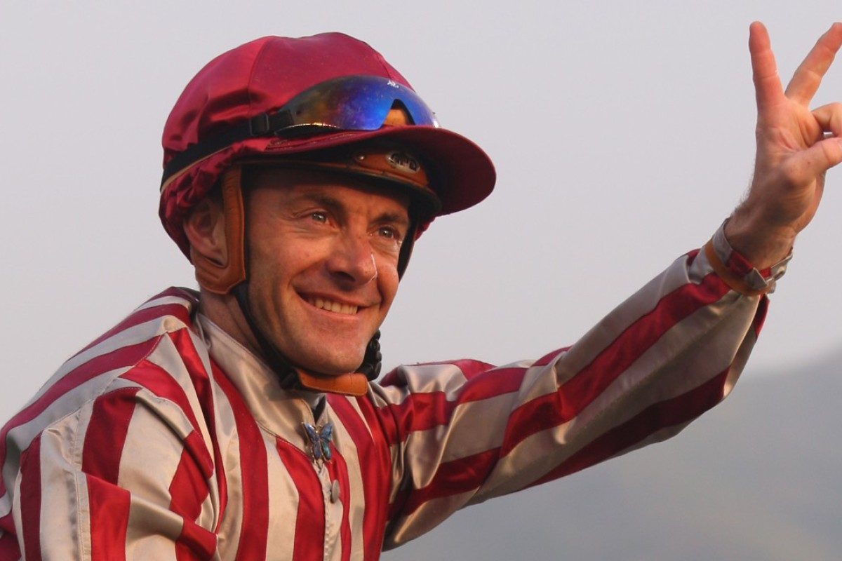 French jockey Olivier Peslier. Photo: Kenneth Chan