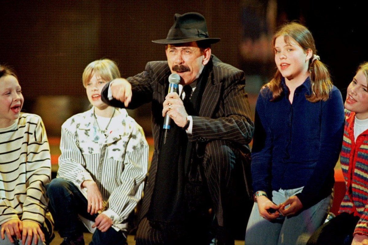 Scatman John, in Hamburg, in 1996. Picture: Reuters