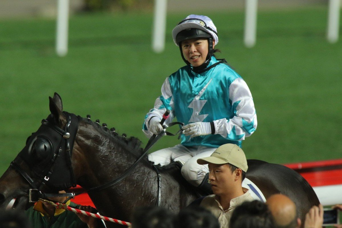 Kei Chiong needs to sit out the most of June as she serves out a seven-day racing ban. Photos: Kenneth Chan