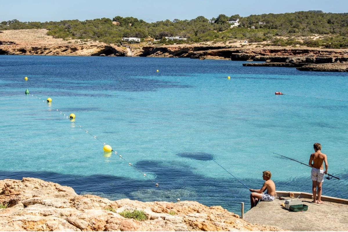 Cala Bassa, Ibiza, Spain. Pictures: Tim Pile
