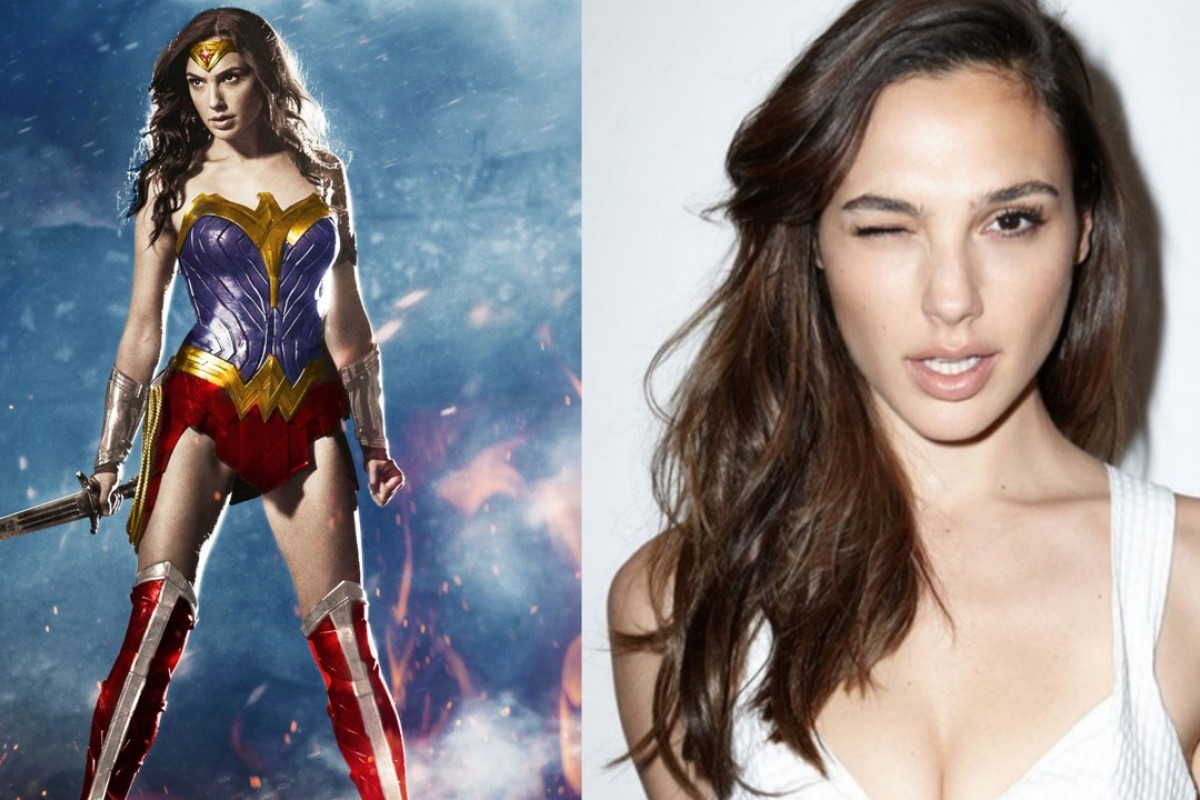 Gal Gadot, the new wonder woman.