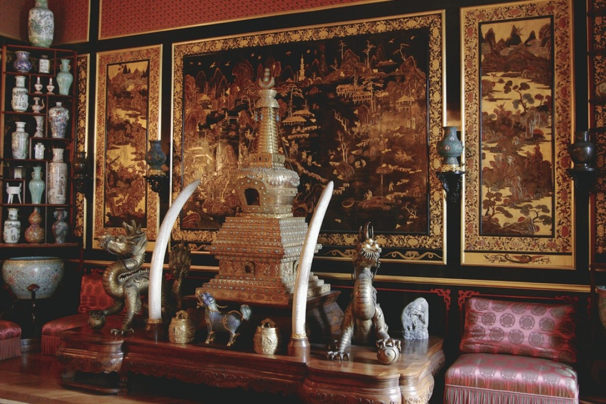 The Chinese Museum at the Château de Fontainebleau, in Paris. Picture: Château de Fontainebleau