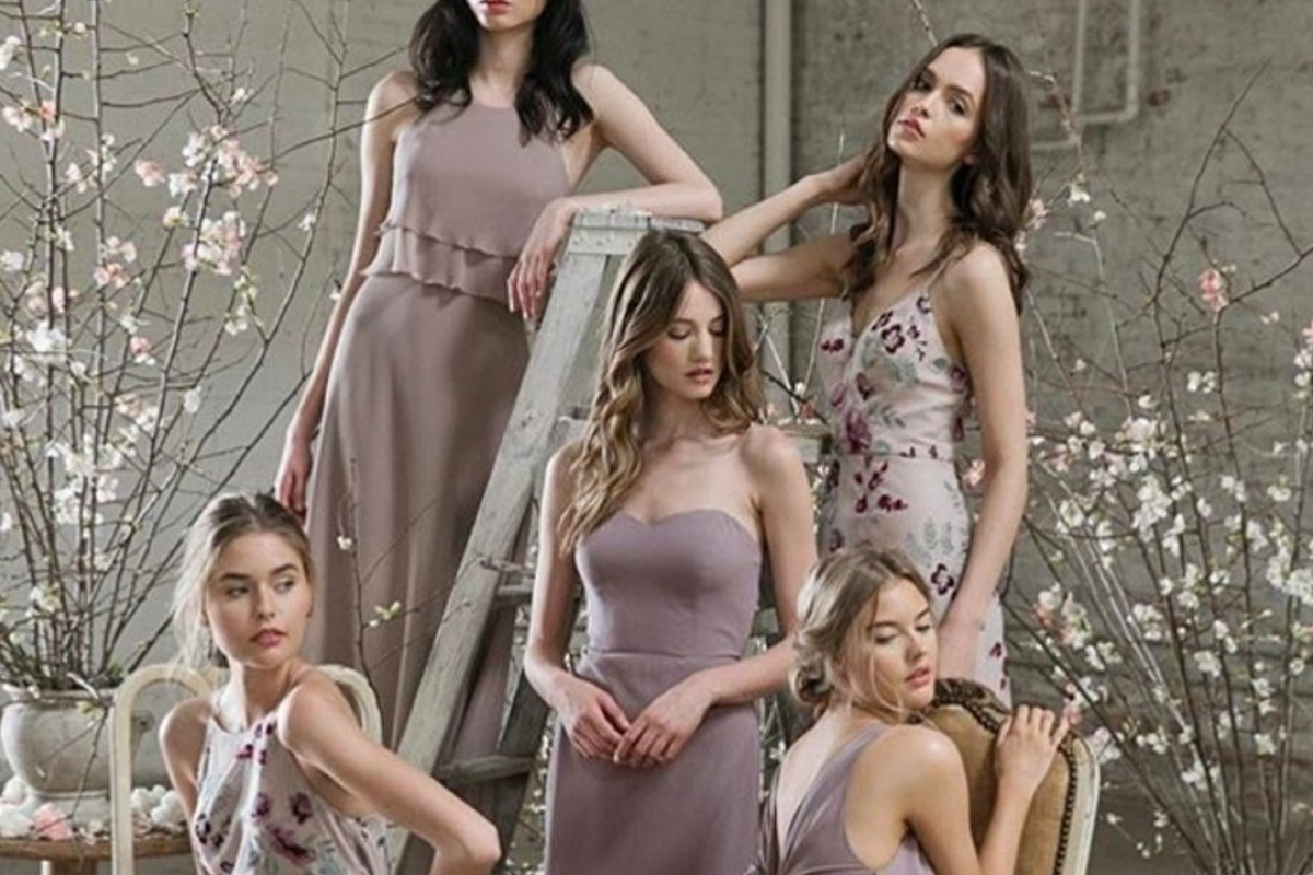 Miss Bride carries bridesmaid dress options that coordinate, yet have individuality.