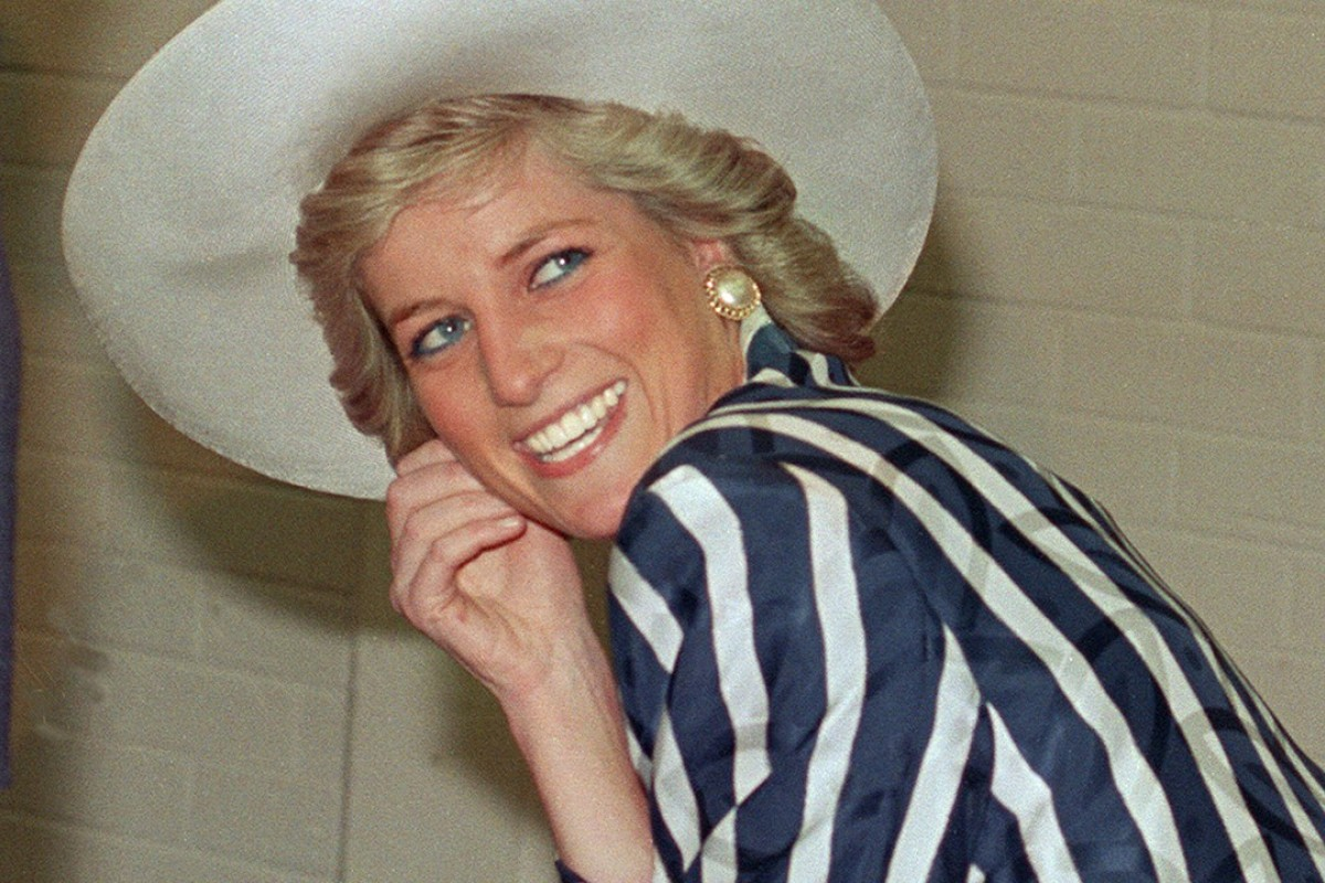 Diana, during a visit to Footscray Park in Melbourne on January 27, 1988