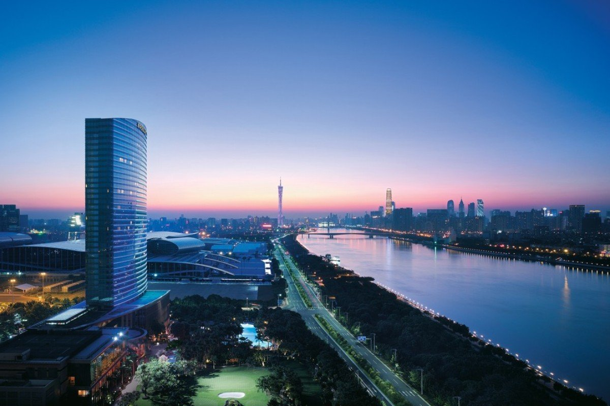 The Shangri-La Hotel, Guangzhou - available on a package deal from Hong Kong.