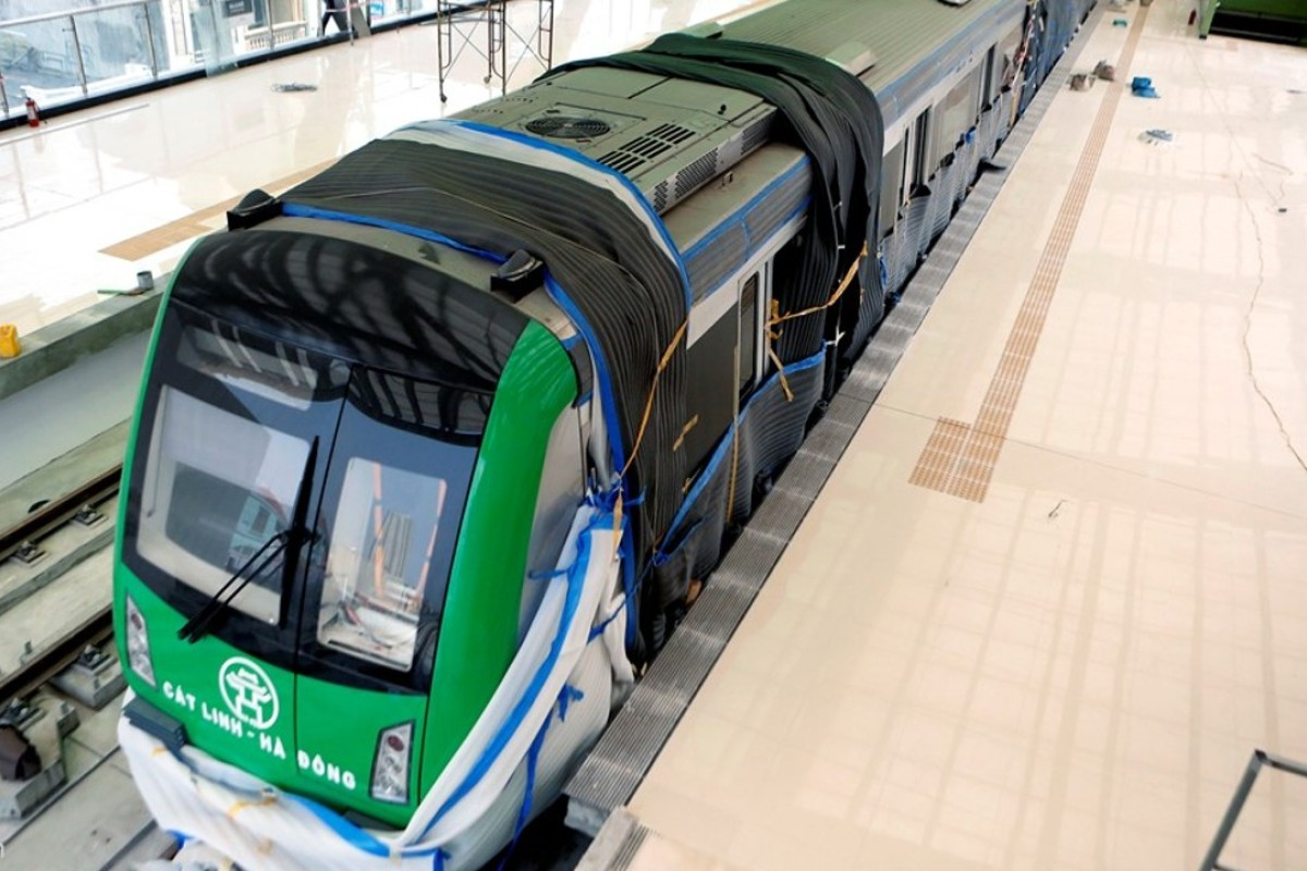 The construction of Hanoi's first metro line is expected to be completed next year, but has resulted in several accidents, one deadly. Photo: Handout