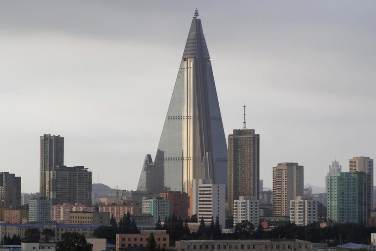 The Pyongyang skyline. Photo: AP