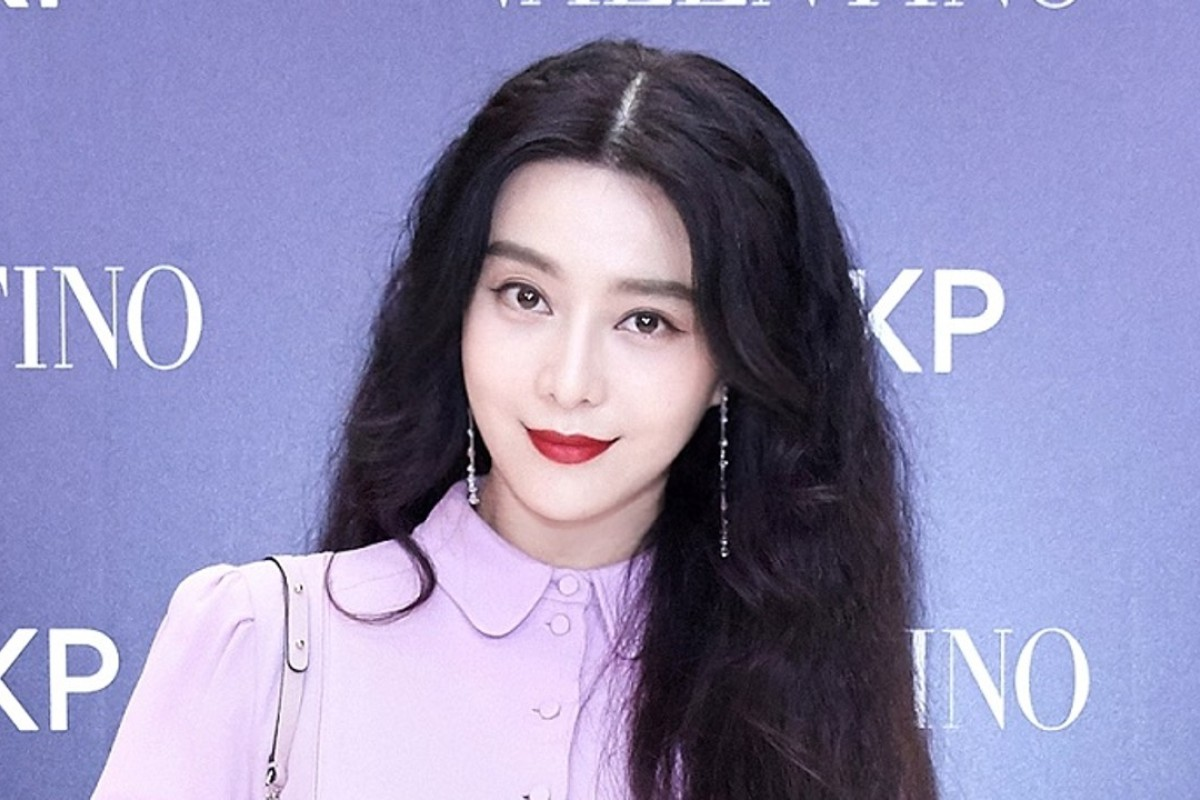 Fan Bingbing at Valentino's 'I Love Spike' installation.