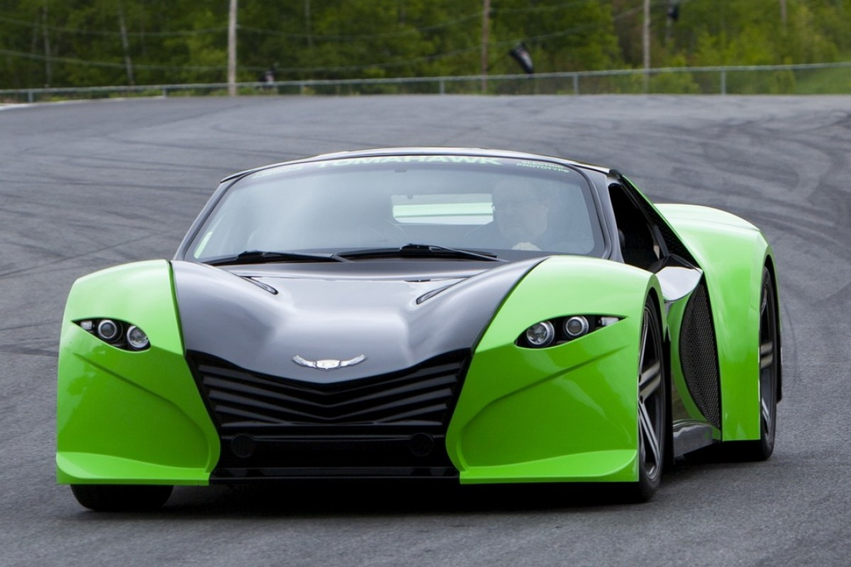 The all-electric Tomahawk – the world's fastest supercar?