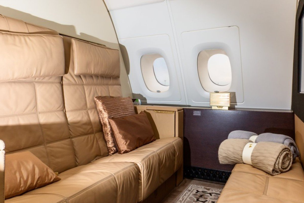First-class passengers in Etihad's Airbus A380 luxury cabins enjoy a 125 square-foot flying home