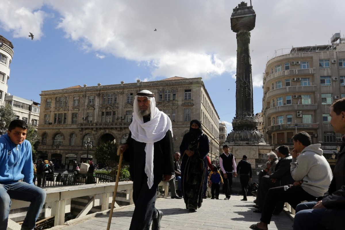 The road to Damascus, the world's oldest capital, must be pretty worn. Picture: AFP