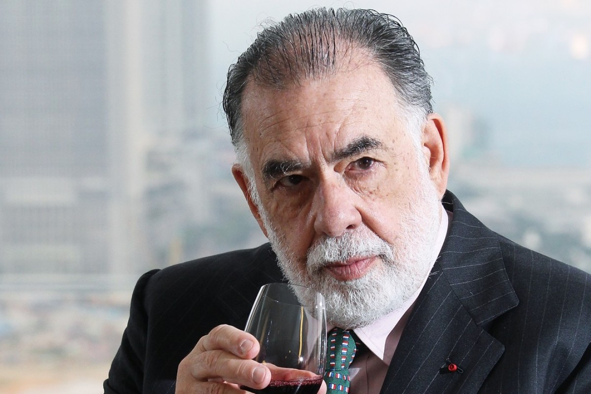 Filmmaker and winemaker Francis Ford Coppola at the Grand Hyatt, in Wan Chai, during his 2012 Hong Kong visit. Picture: SCMP