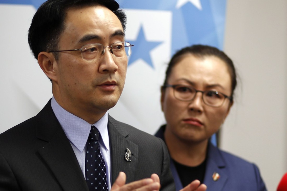 New Zealand MP Yang Jian: taught English to Chinese spies. Photo: AP