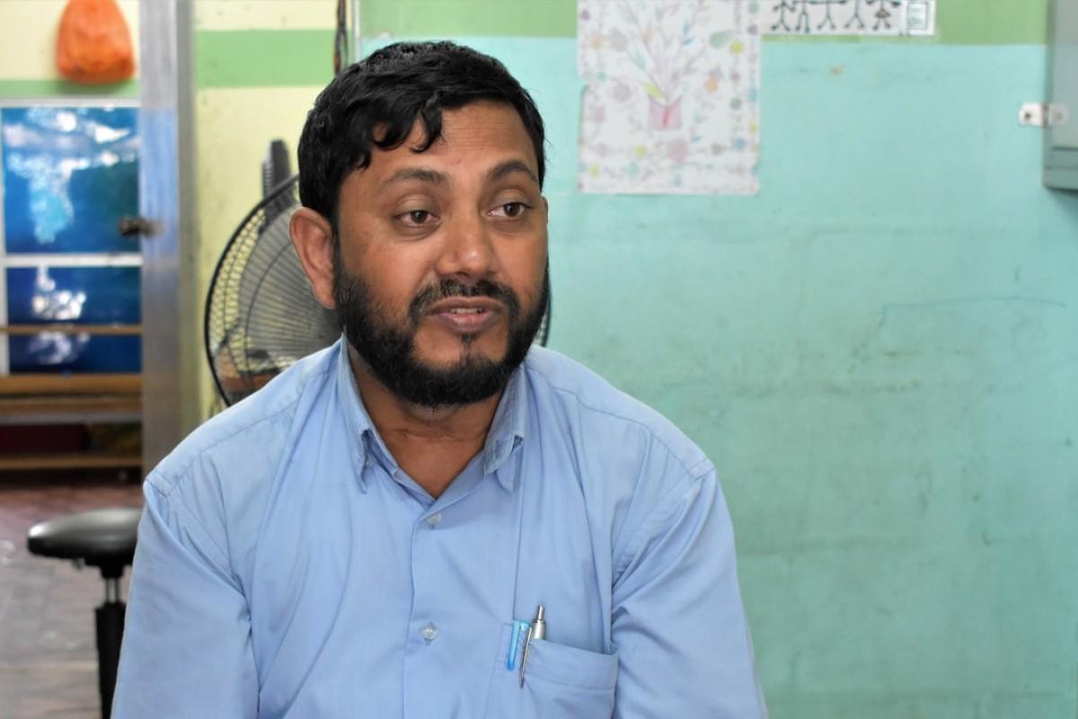 Sadek Ali Hassan, 44, is a Rohingya refugee who has been living in Malaysia for 14 years. Photo: Karim Raslan