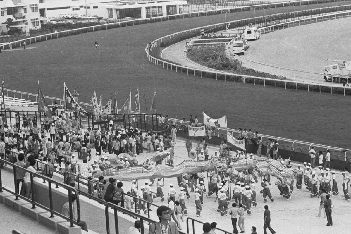 The opening of Sha Tin Racecourse on October 7, 1978. Pictures: SCMP