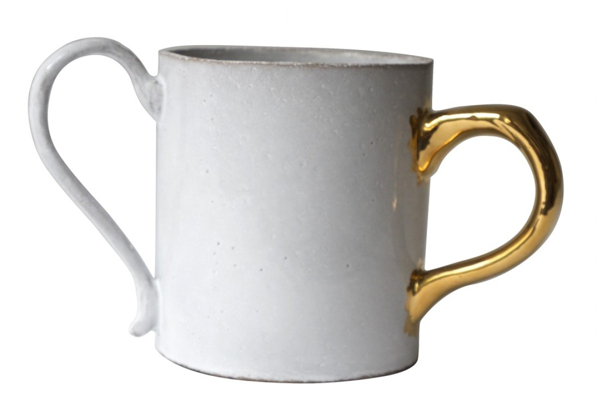 Hip Japanese label Sacai releases exclusive fashion collection, including this Astier de Villatte cup.
