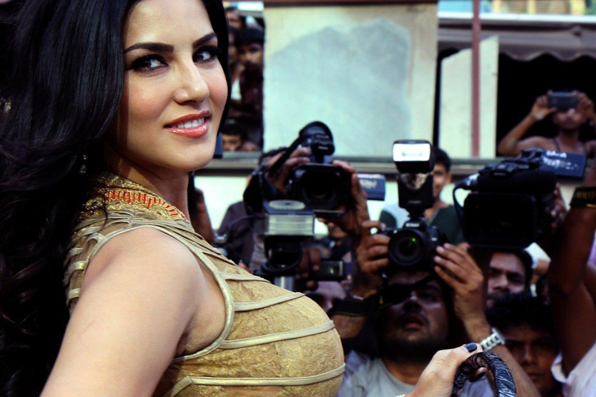 Indian actress and former adult film actress Sunny Leone is clearly grateful for the reception she has received by ordinary people in India. Photo: AFP